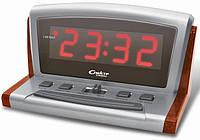 Интерьерные настольные часы с будильником СПЕКТР - КВАРЦ 0918(K)