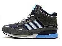 Зимние мужские кроссовки Adidas ZX850 на меху, р. 44 45