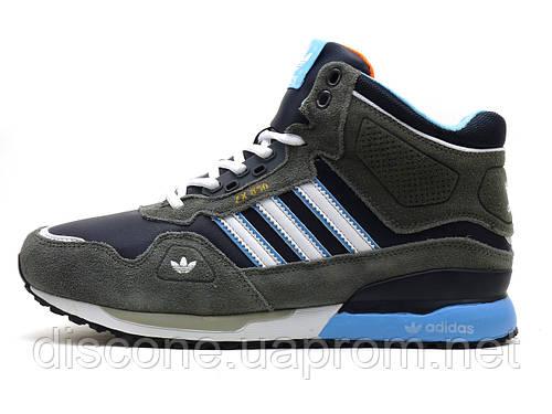 Зимние кроссовки мужские Adidas ZX850 на меху, р. 44