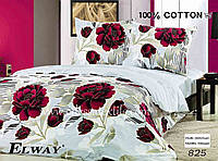 Комплект постельного белья полуторный  Elway825 cатин
