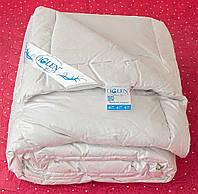 Одеяло пуховое стеганное 110Х140 детское (100% пух) летнее в немецком тике с кантом IGLEN 11014011c