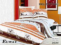 Комплект постельного белья полуторный  Elway 3036 cатин