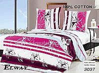 Комплект постельного белья полуторный  Elway 3037 cатин