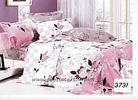 Комплект постельного белья полуторный  Elway 3731 cатин