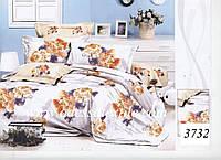 Комплект постельного белья полуторный  Elway 3732 cатин