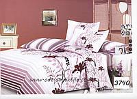 Комплект постельного белья полуторный  Elway 3740 cатин