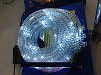 Светодиодный дюралайт LED с контроллером гофрированный. Белый.