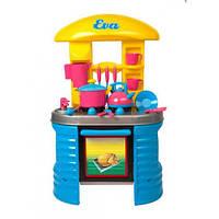 Детская кухня Eva с посудой 04-404 Kinderway