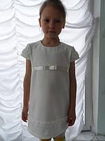 """Платье-туника детское трикотажное для девочек """" Леди-Каролина """""""