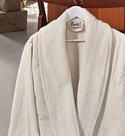 Банный махровый халат  Ladik  Karren v2 кремовый S