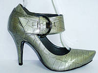 Женские кожаные туфли недорого 116069