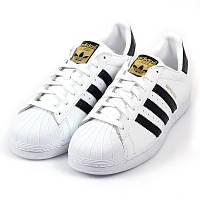 Кроссовки Adidas Superstar Originals White-Black-Gold