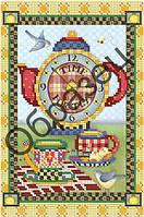 Схема для вышивки бисером «Время пить чай»