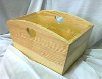 Короб с сердечками