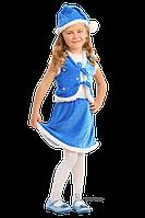 Детский карнавальный костюм Санты (девочки) Код 9122