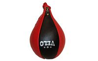 """Груша боксерская """"Капля"""" ULI-8002 (верх-кожа, латекс. камера, подвесная, d-17см,l-28см)"""