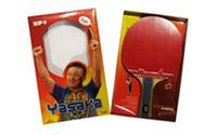 Ракетка для настольного тенниса (1шт) Yasaka MT-2067 (доска-многосл. древ, накладка - резина, губка)