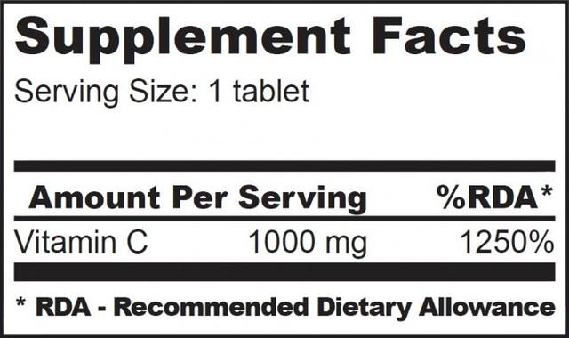 Витаминный комплекс BioTech Vitamin С 1000 100 таб, фото 2