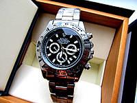 Часы наручные мужские  Rolex Daytona серебро , магазин мужских часов