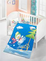 Детское постельное белье в кроватку Victoria Snowman