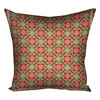 Декоративная подушка с орнаментом