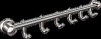 Вешалка 6 крючков для ванной  Classic