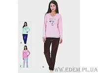 """Комплект женский велюровый домашний с брюками """"модель 4420"""" (артикул: 13893)"""