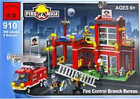"""Детский конструктор Brick 910 """"Пожарная охрана"""", Конструктор Брик"""