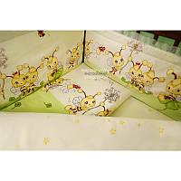 Комплект постельного белья в детскую кроватку Пчелки хлопок ТМ Медисон Украина