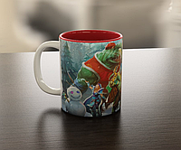 Кружка чашка  Новогодняя Dota 2