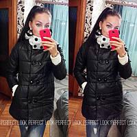 Женская стильная зимняя куртка MONCLER