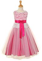 Выпускное платье с кружевным лифом 2-12лет(много цветов)