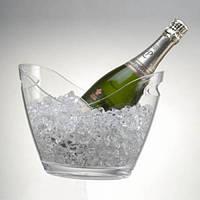 Винное ведро акриловое прозрачное на 2 бутылки Prodyne
