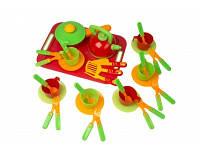 Игровой набор Посуда с разносом 04-423 тм Kinderwаy