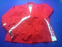 Кимоно самбо красное VELO 130см