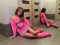 Нежное платье туника  Moschino код 36785