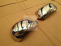 Хром накладки на зеркала (нерж) volkswagen golf IV (фольксваген гольф 4) 1997-2003