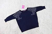 Детский свитер для девочки  ,  р.134-140