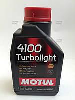 Масло моторное полусинтетическое Turbolight SAE 4100  10W40 (1L) Пр-во Motul.