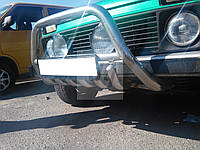 Защита переднего бампера (кенгурятник) нерж., защита поддона Lada Niva (лада нива / ВАЗ 2121/ ВАЗ 2131) 1977+