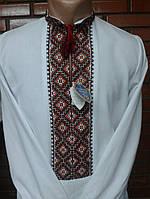 Сорочка чоловіча вишита на домотканому полотні (ручна робота)
