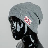 Вязаная шапка SWAG (mini)