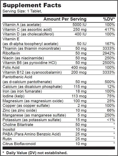 Витаминный комплекс BioTech Vitabolic 30 таб., фото 2