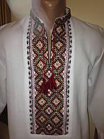 Вишита сорочка чоловіча з яскравим орнаментом ручної роботи