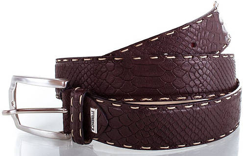 Модный мужской кожаный ремень GEORGES CHABROLLE (ЖОРЖ ШАБРОЛЛЬ), FARE011-10