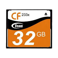 Карта памяти Team Compact Flash 32GB 233x (TCF32G23301)