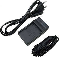 Зарядное устройство + автомобильный адаптер CB-2LZE для CANON PowerShot G10, G11, G12, SX30 IS - (акб NB-7L)