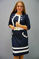 Платье Лаура с болеро больших размеров