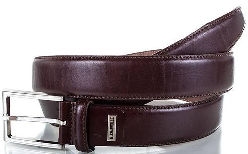 Фирменный мужской кожаный ремень GEORGES CHABROLLE (ЖОРЖ ШАБРОЛЛЬ), FARE002-10