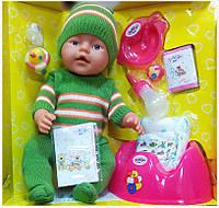 Кукла пупс 8001 Baby Doll  8 функций (зима)